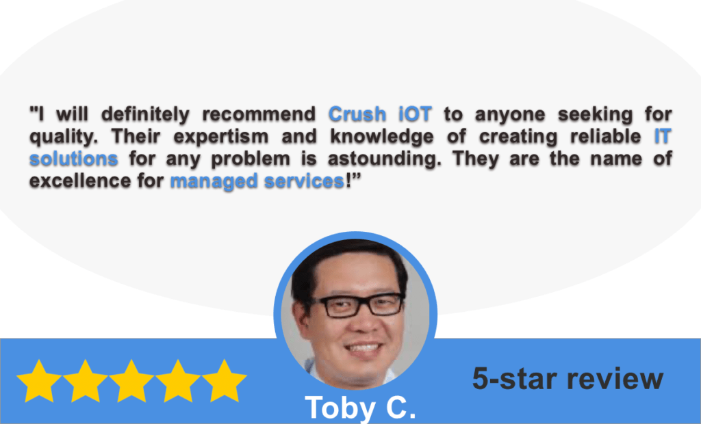 managed services testimonial